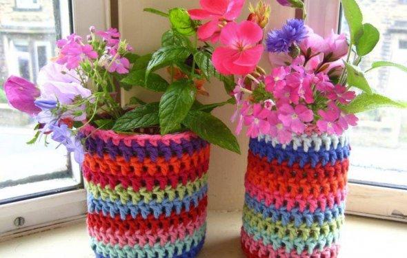 необычные цветочные горшки