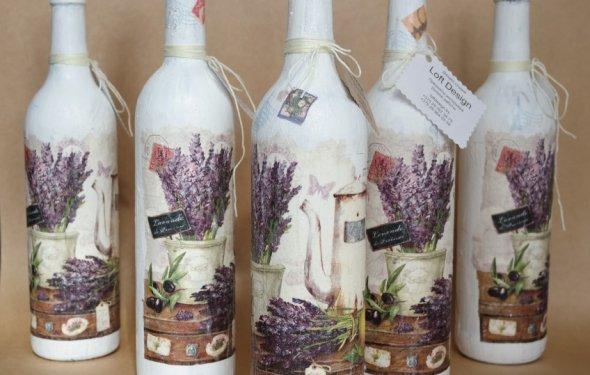 Декоративные бутылки 50
