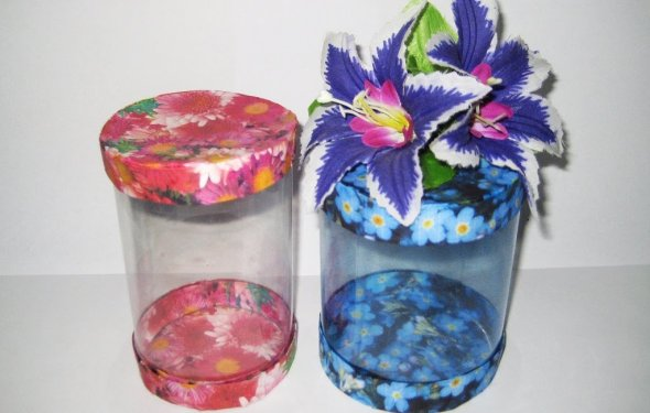 DIY Коробочки из пластиковых