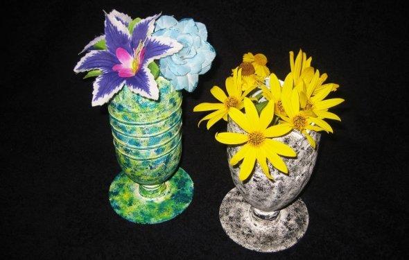 DIY Вазочки из пластиковых