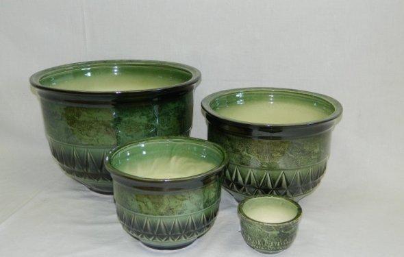 Керамические кашпо, вазы