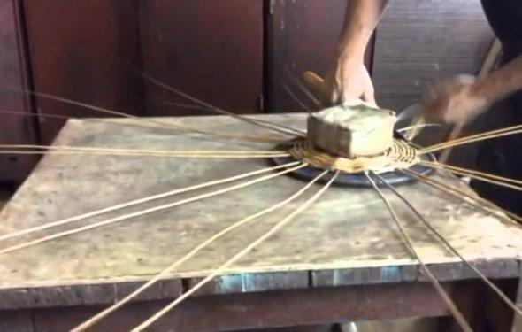 Плетение кашпо - YouTube