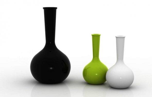 Стеклянная ваза - изысканное