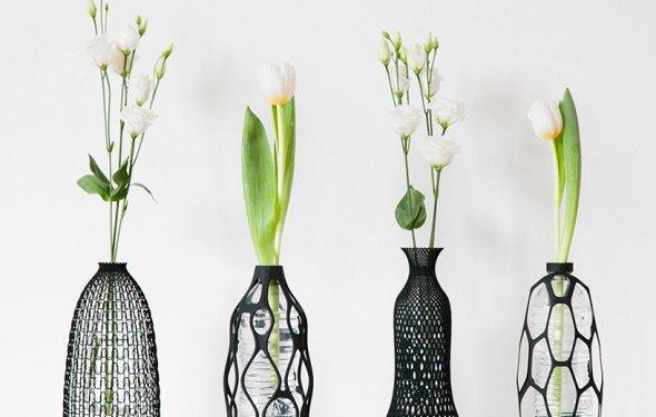 Уникальные цветочные вазы от